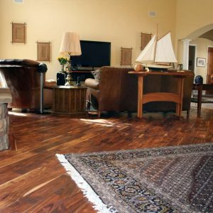 Acacia hardwood floor