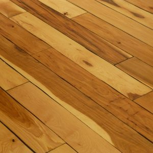 Distressed and hand scraped hardwood flooring in Colorado