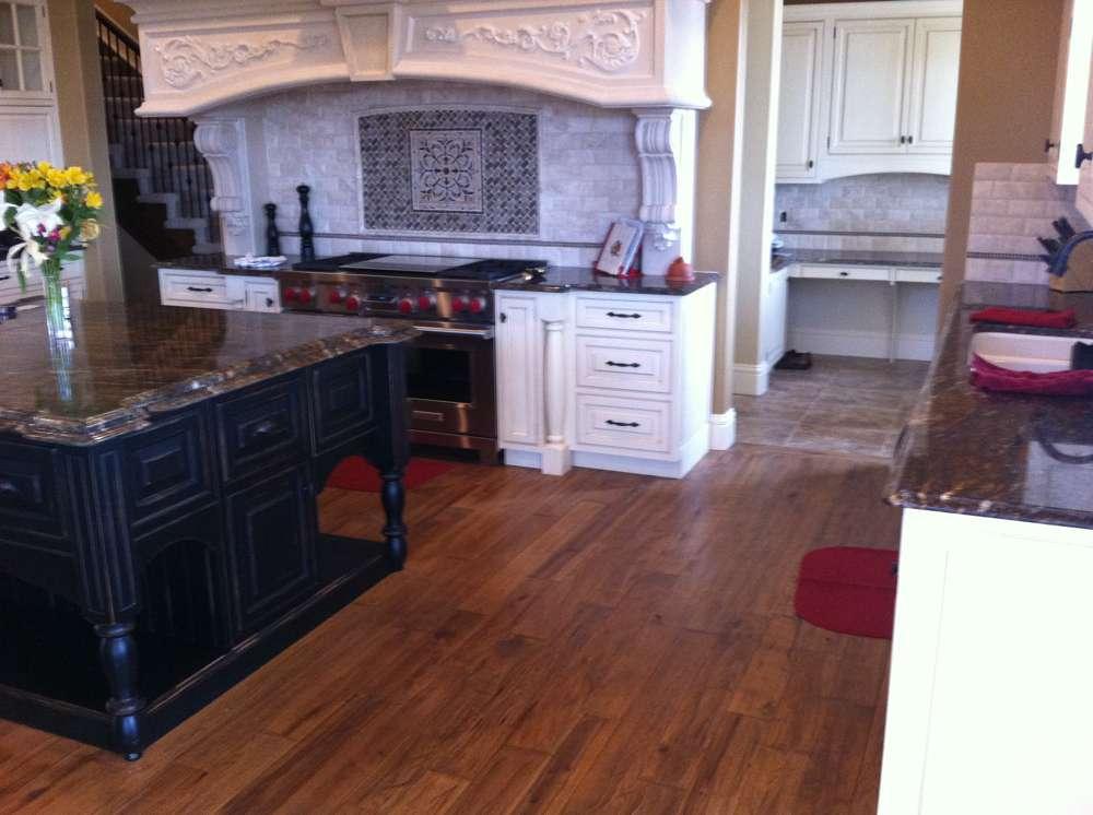 gaucho hickory kitchen floor