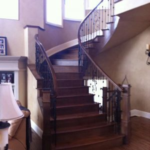 gaucho hickory wood stairs