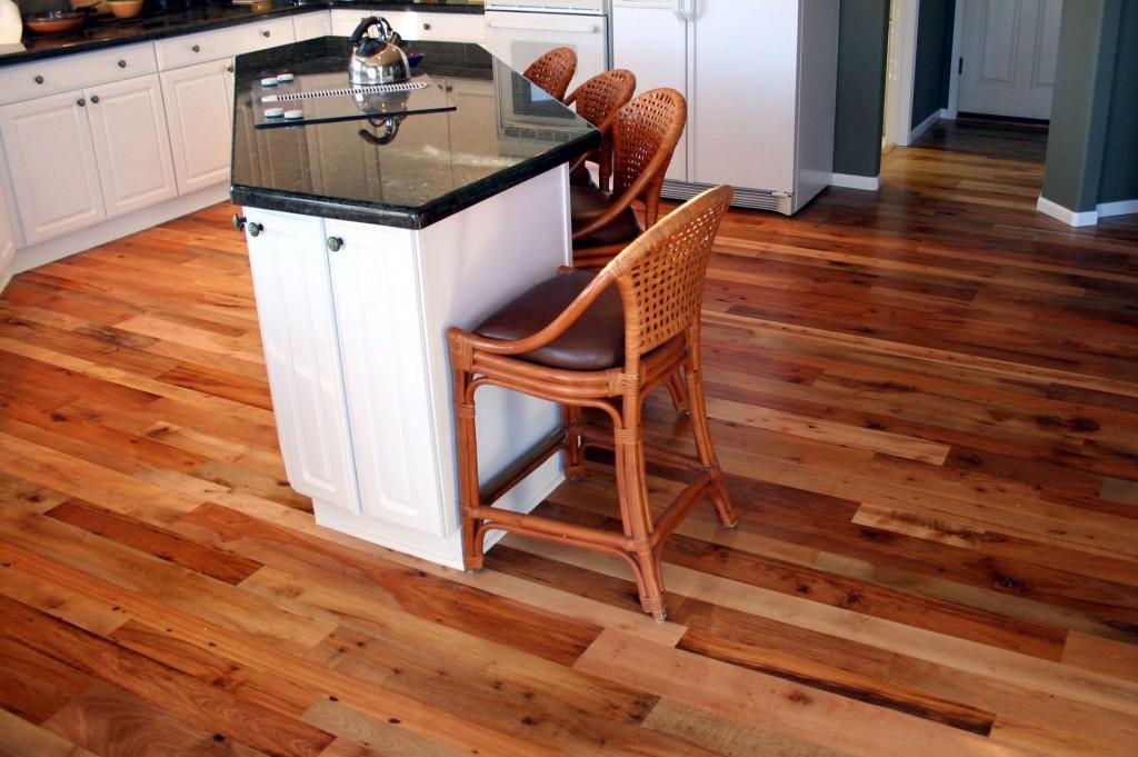 Hardwood floors in your kitchen