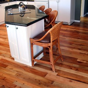 Hardwood floors in your kitchen