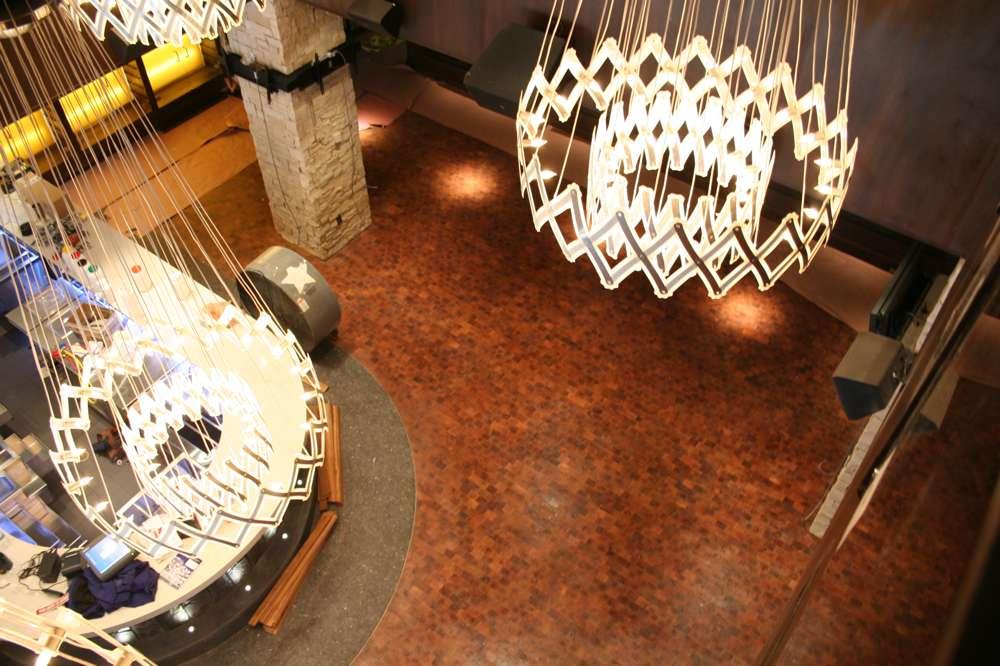 lobby hardwood floor