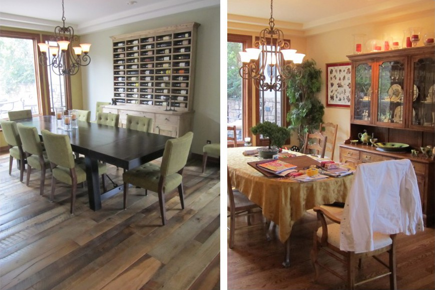 Types of Hardwood Floors to mix