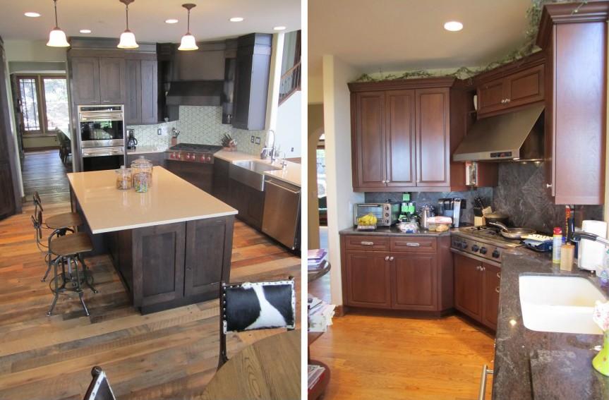 DIY hardwood floor - reclaimed hardwood