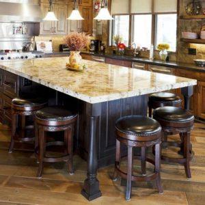 Hardwood Floors in the Dining Room