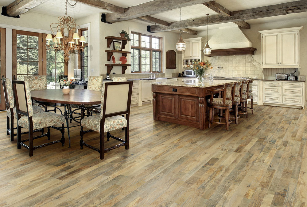 Prefinished hardwood floors in Colorado