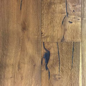 Wide hardwood flooring in Colorado