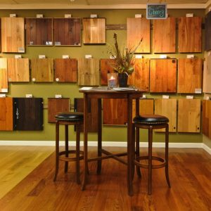 Interior design with wood wall treatments