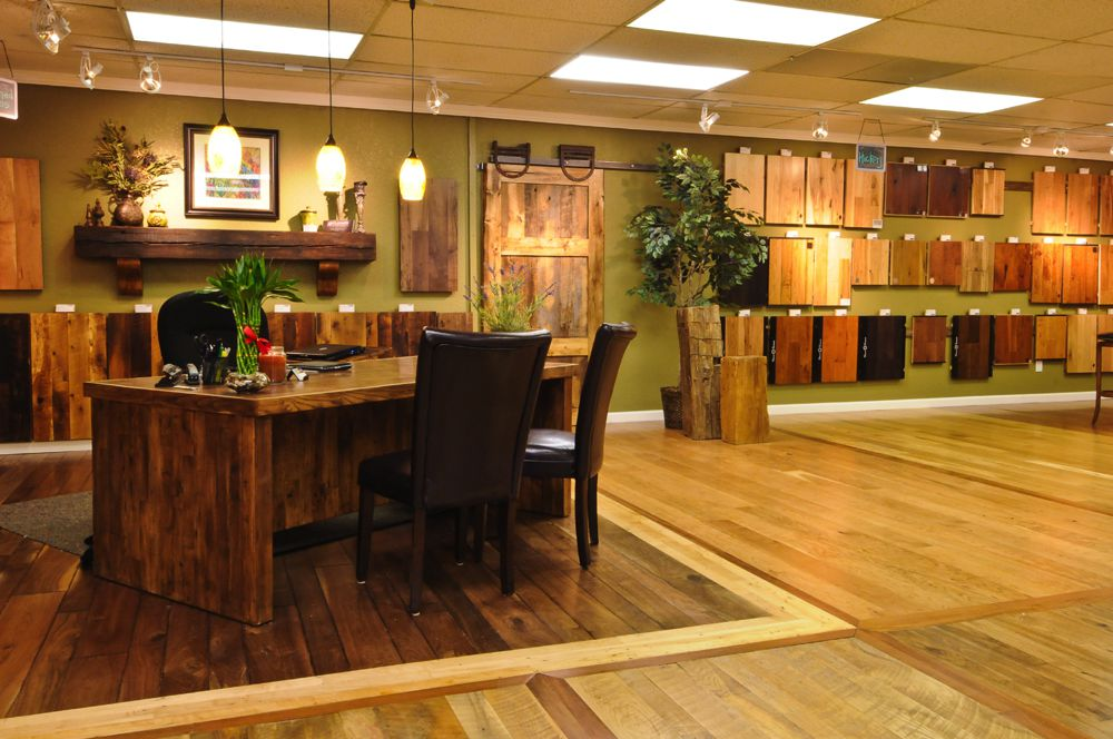 Hardwood flooring showroom in Denver and Evergreen