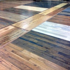 Historic hardwood floor restoration