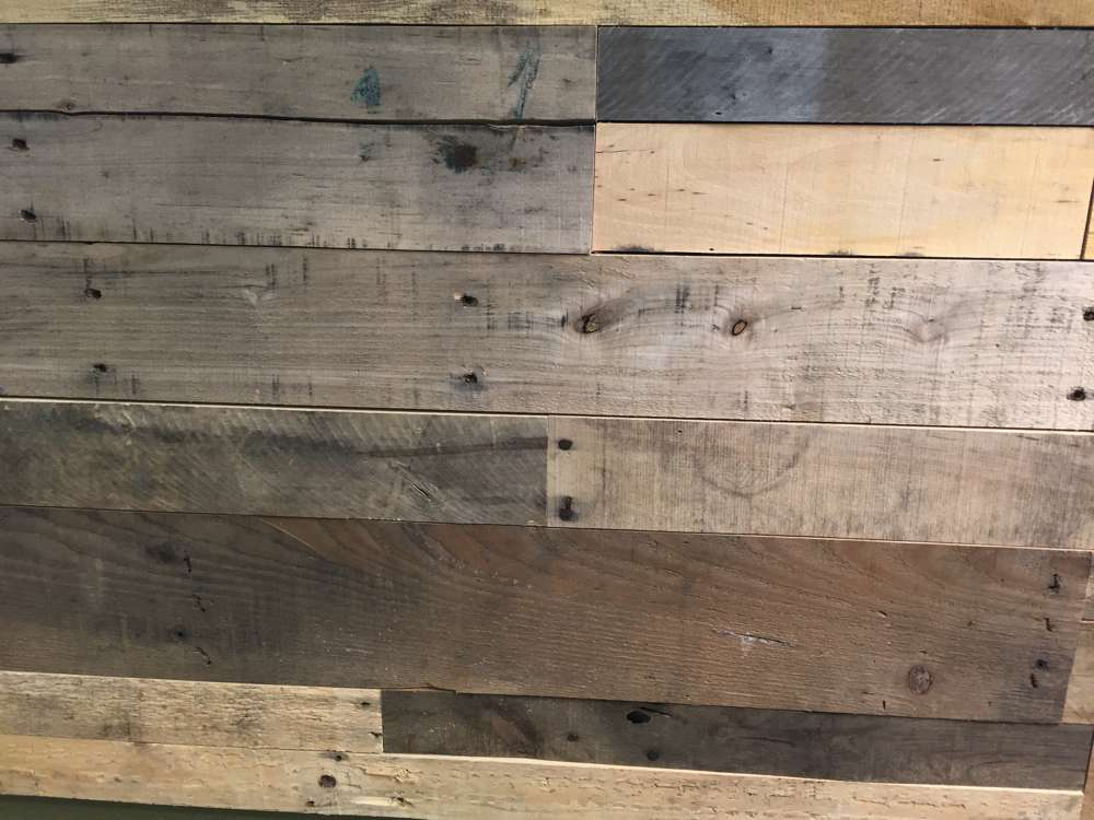 Use reclaimed wood to hide tiny imperfections dent and scratches in your Colorado hardwood floors