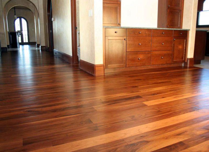 Wood Floors With Wood Trim : Wood flooring trim the finishing touches on hardwood