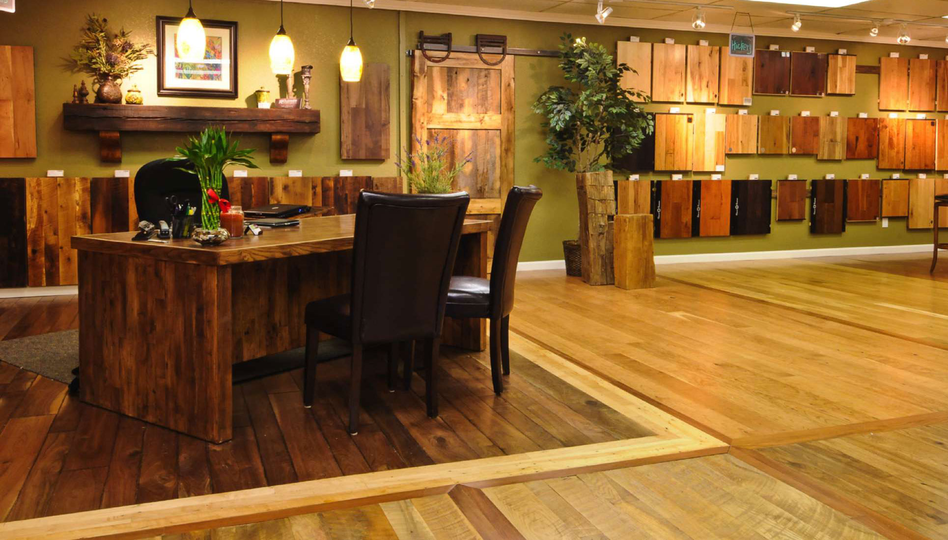 Visit our Denver show room and get help and inspiration for your next Colorado hardwood flooring project.
