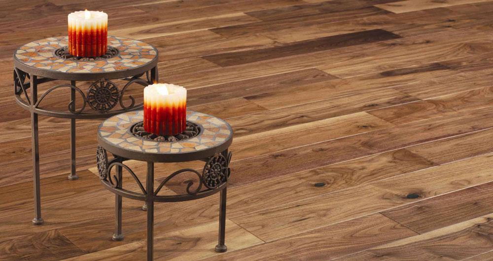Hardwood floor installation in Colorado