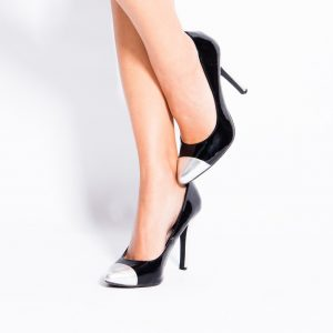 Heels may cause minor dents on flooring