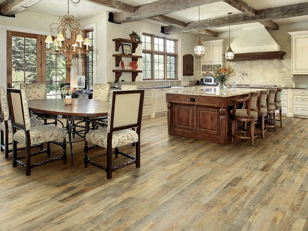 Noni White Oak Organic hardwood from Hallmark's Organic Floor Collection. Photo credit: hallmarkfloors.com