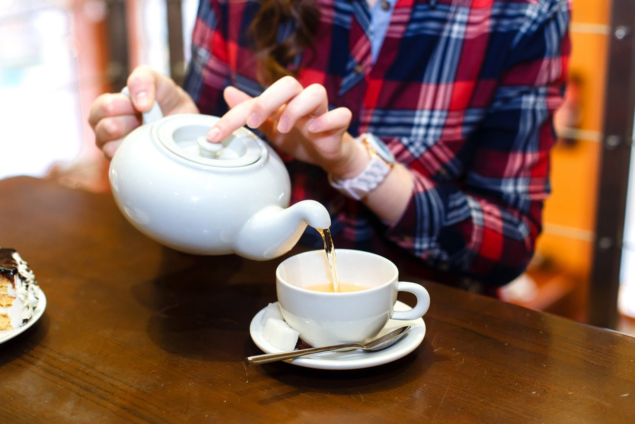 The simple task of making a cup of tea can help your home retain moisture in the dry fall and winter months.