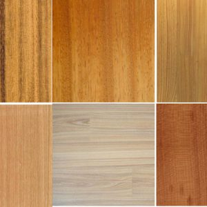 Types of wood floors at Denver showroom