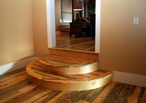 Choose one flooring style