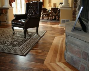Colorado hardwood floor design