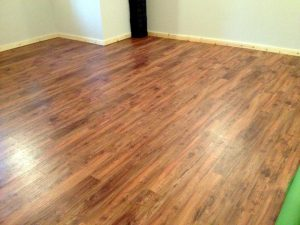 Prepare home for wood floors