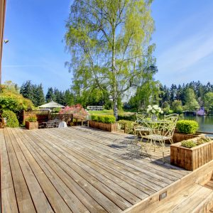The most durable types of wood for decking