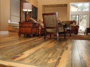 Softwood floors