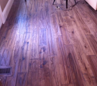 Spot Fixing Scratches, Scuff Marks, and Spills from Hardwood Floors