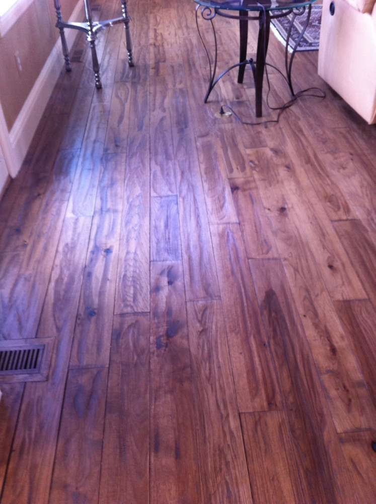 Spot Fixing Scratches Scuff Marks And Spills From Hardwood Floors