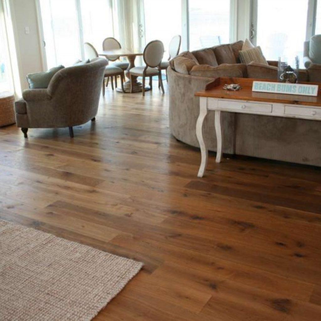 Discoloration Of Hardwood Floor
