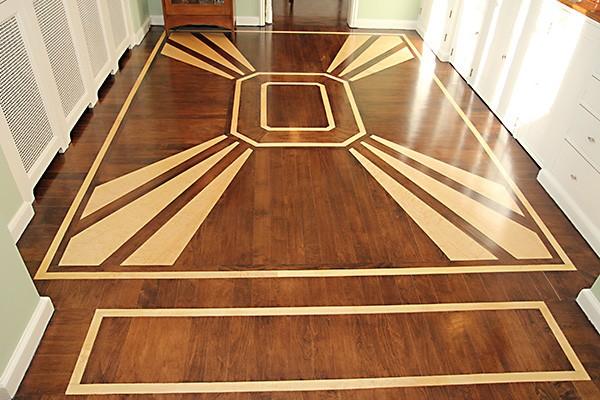Hardwood Floor Medallions Turn Your Floors Into Art T