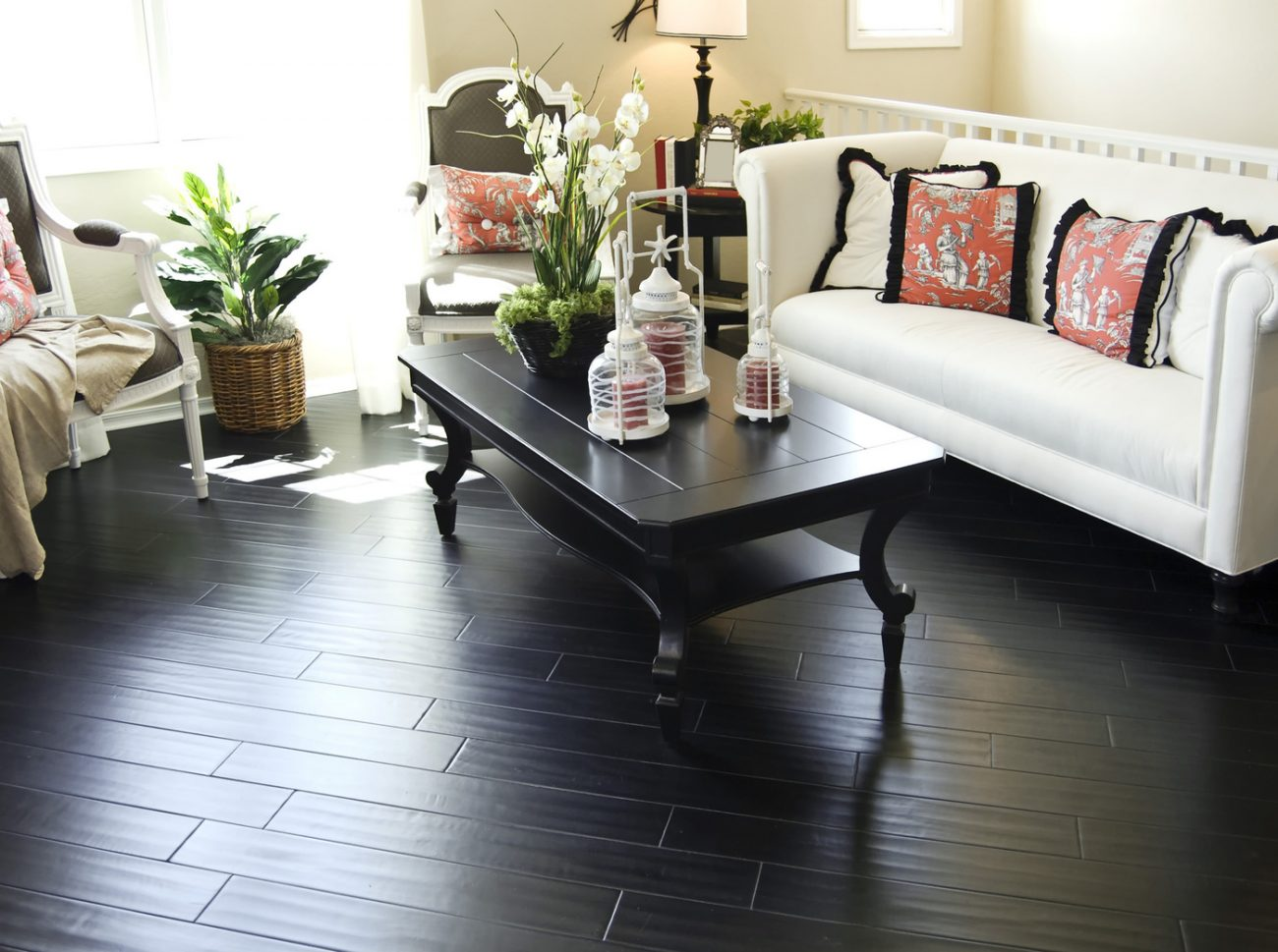 Are Dark Hardwood Floors Right For Your Home