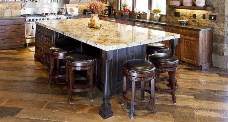 Hardwood Floors in Modern Kitchen | T & G Flooring