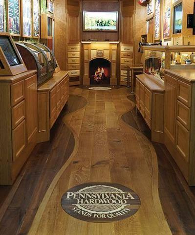 Hardwood Peak Inlays T Amp G Flooring
