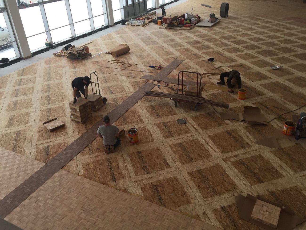 Installing Parquet Hardwood Floors T Amp G Flooring