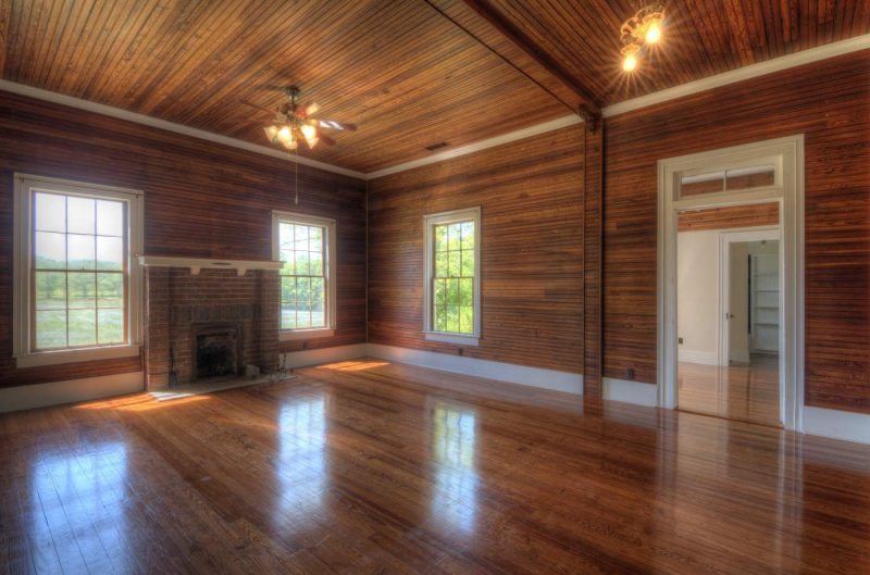 Matching Wood Floor And Ceiling Trim T G Flooring