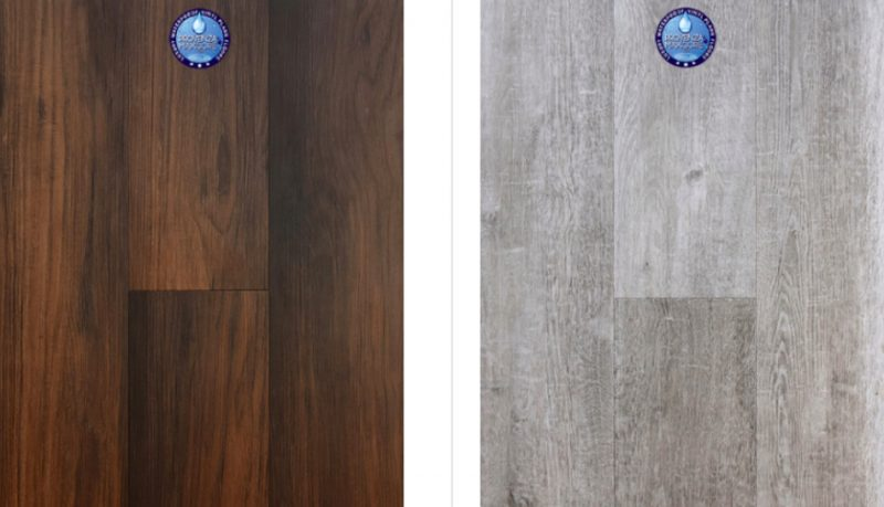 Water Proof Vinyl Flooring Is A Chic Alternative To Wood
