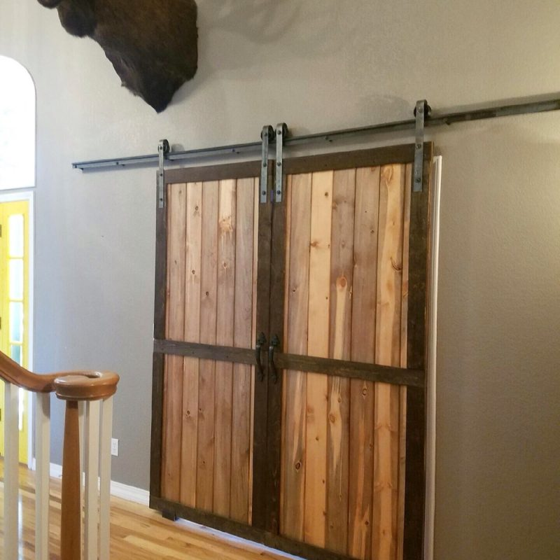 A Rustic Barn Door In The Home Can Be More Than Decorative